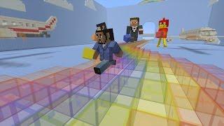 Minecraft Xbox - Rainbow Speed Run - Mini-Game