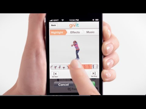 Use Givit To Create Your Own Dance Videos or Whatever Inspires You!
