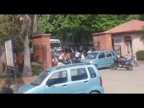 Students clash in MIET college after India Pakistan match 2017