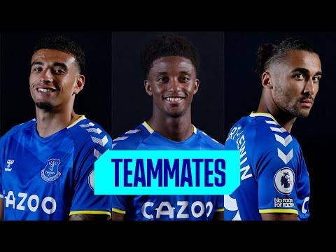 WHO IS THE FASTEST ON THE EVERTON SQUAD?  |  TEAM EPISODE # 2