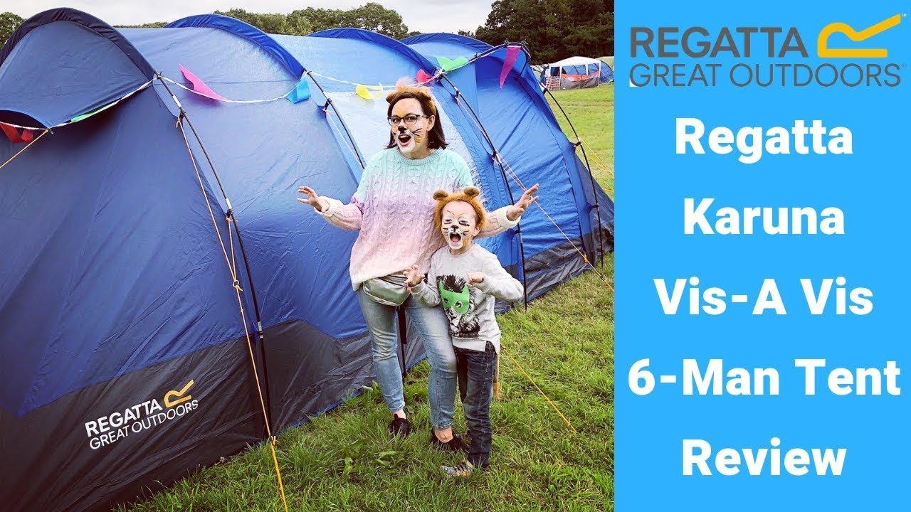 regatta 4 man family tent review