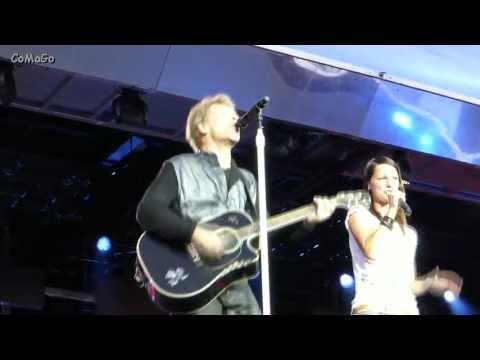 Bon Jovi: Who Says You Can't Go Home (with Christina Stürmer), Stuttgart, 21.06.2013