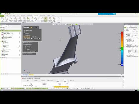 Control X Tutorials Air Foil and 2D Twist Analysis