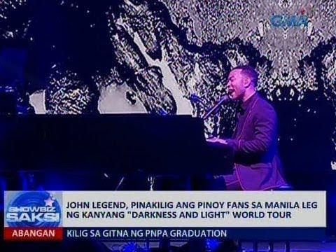 Saksi: John Legend, pinakilig ang Pinoy fans sa Manila leg ng kanyang World Tour