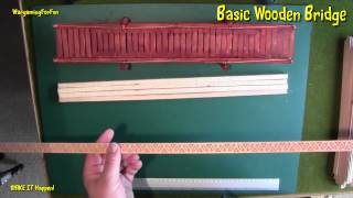 Basic Wooden Bridge Pt 1 - Wargaming Terrain - Make It Happen 1