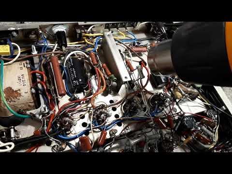 Trio W-41U Japanese Stereo Valve Amplifier Fault Remedy