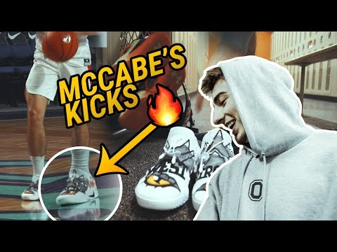 Jordan McCabe's Shoe Game Is OUT OF CONTROL! You Gotta See The JOKERS 🔥