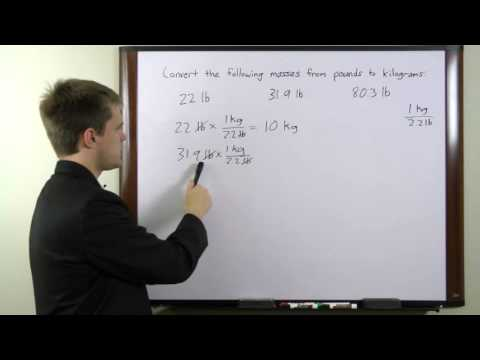 HiSET Test - Free Math Tip - Finding Kilogram Mass in Pounds