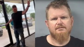 Man arrested after racist rant at Texas AT&T store