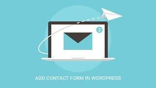 Comment Créer un Formulaire de Contact dans WordPress