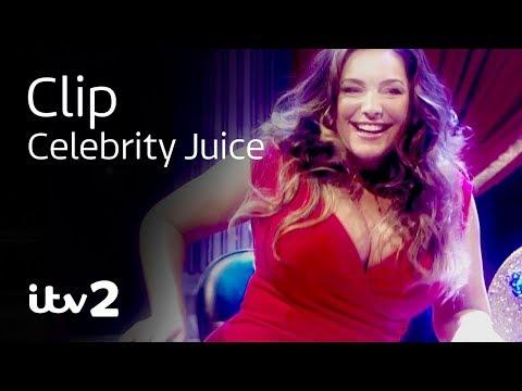 Kelly Brook and Joe Swash - 5 Second Fool XTREME   Celebrity Juice   ITV2