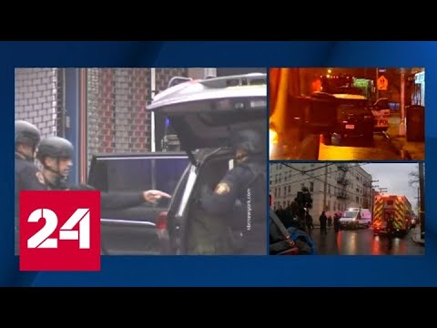 Перестрелка в США: против бандитов двинули бронетехнику и вертолеты - Россия 24