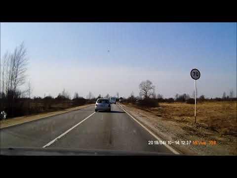 Владимир - Юрьев-Польский ( через Кольчугино; по М-7, Р-75)  10.04.18г  4x