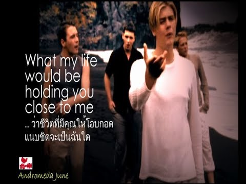 เพลงสากลแปลไทย #199# If I Let You Go - Westlife (English & Thai subtitle) ♪♫♫ ♥