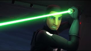 [Ezra Vs Gunships] Star Wars Rebels Season 4 Episode 10 [HD]