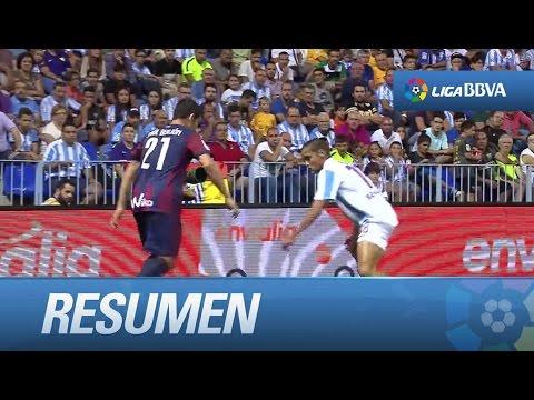 Resumen de Málaga CF (0-0) SD Eibar - YouTube