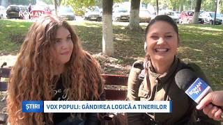 Vox populi: gândirea logică a tinerilor