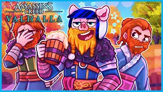 Assassin's Creed Valhalla but I'm just a drunk viking...