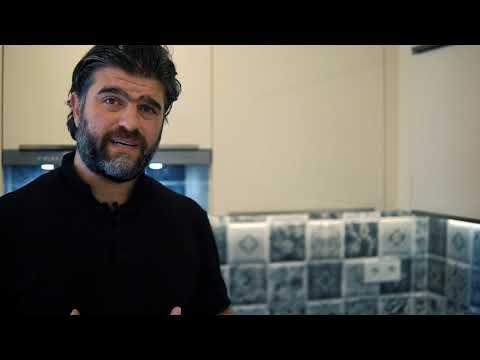 Parlak akriligin Zarafeti | 2020 2021 mutfak modelleri|Çimstone Tezgah | Cizilmez Akrilik|mutfak