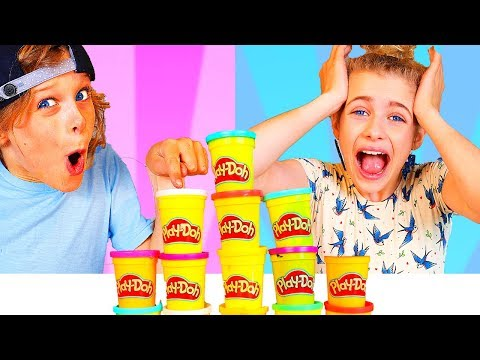 DON'T Choose the Wrong PLAY DOH Slime Challenge with BONUS ROUND ft The Norris Nuts