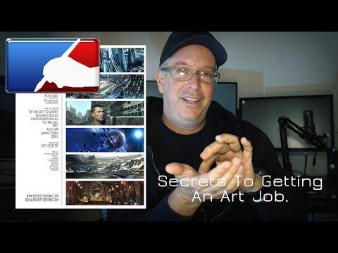 Get That Art JOB! Portfolio Tips.