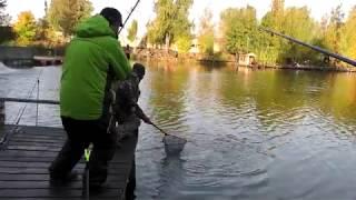 Рыбалка у Бородина 07 10 2018 4K