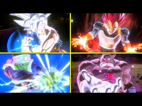 Dragon Ball Xenoverse 2 : All DLC Characters Ultimate Attacks [w/Legendary Pack1] NO HUD |