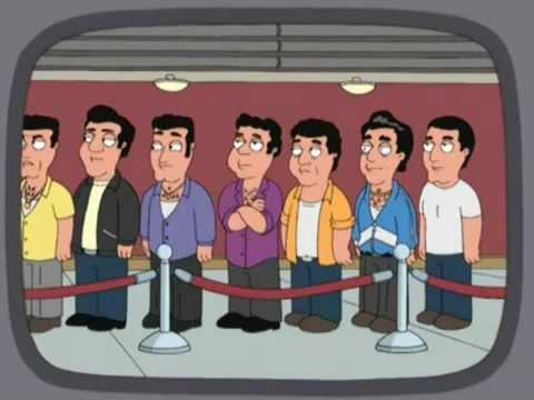 family guy cutting in line in front of italians the donald