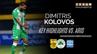 Dimitris Kolovos vs. Aris Salonica (15/7/20) | PROSPORT.GR