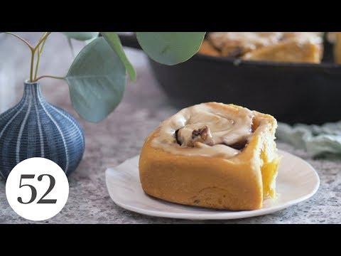 Baking By Heart: Sweet Potato Cinnamon Buns