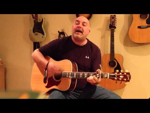 How to Play Wagon Wheel - Matt Anderson Style (cover) - Easy 4 Chord Guitar Tune