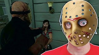O SUPER SOCO DO JASON - Friday the 13th the Game
