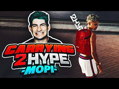 NBA 2K19 PARK FT. MOPI - CARRYING 2HYPE EP. 2