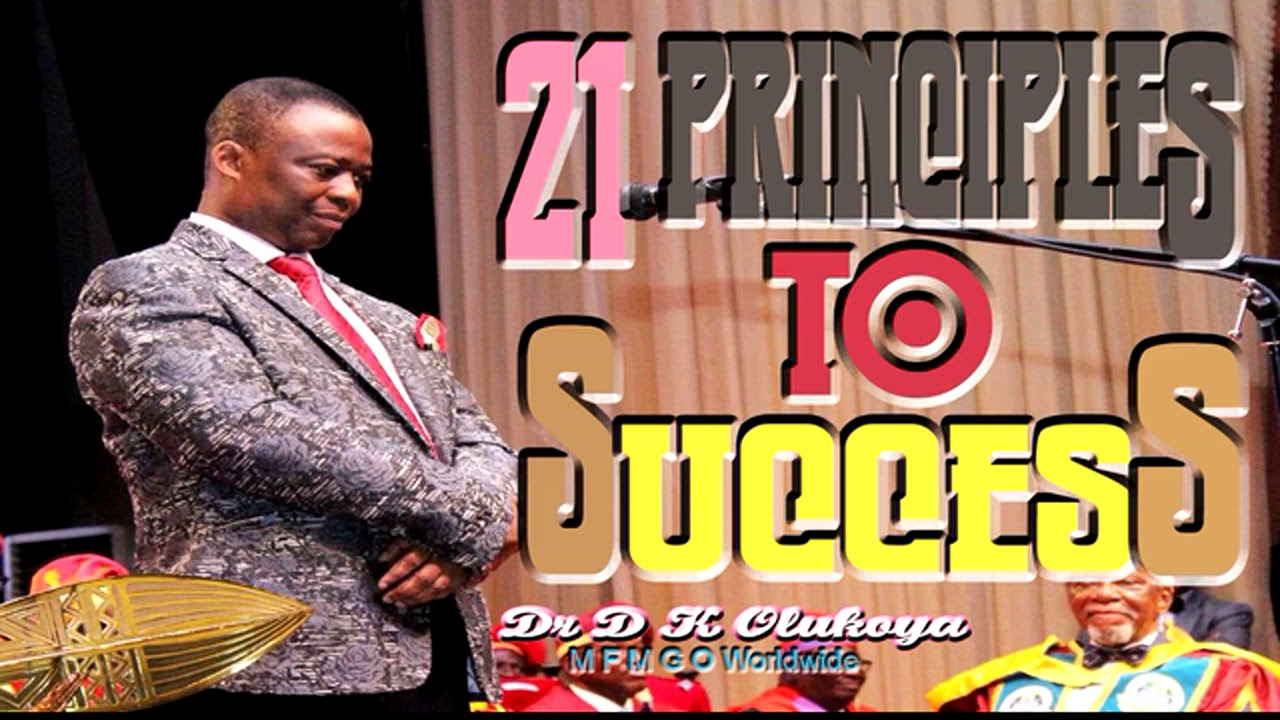 Download 21Principles To Success  Dr D K Olukoya