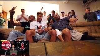 Draft Day with Angels First Round Pick Jordyn Adams