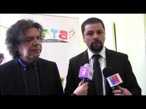 Visita Jaime Arévalo, Seremi vivienda y urbanismo