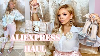 ALIEXPRESS HAUL TRY ON OUTFIT IDEAS KAYLA DAWN COOK