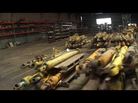 Shedload Of Heavy Equipment Parts