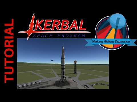 Kerbal Space Program Tutorial: How to Build Saturn IB with making History
