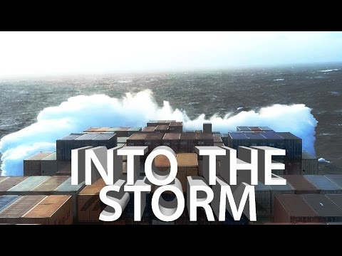ROUGH SEAS! Bad Weather in Atlantic Ocean  | Life at Sea