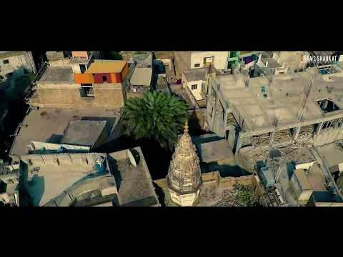 Drone over Raja Bazar Rawalpindi, rich culture with gopro karma.