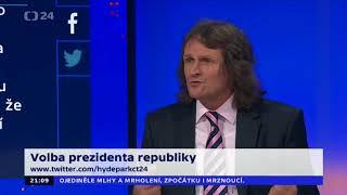 HYDEPARK 24.1. 2018 migrace volba prezidenta ZEMAN DRAHOŠ ŠEVČÍK GRYGAR