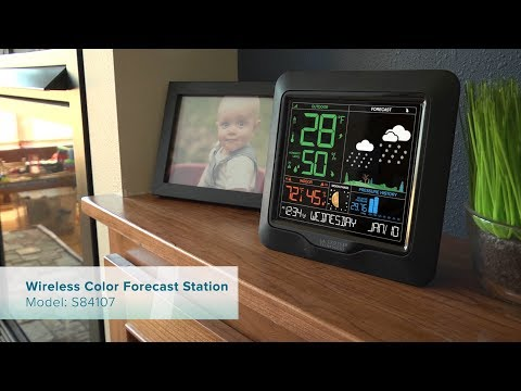 New 2018 Wireless Color Forecast Station
