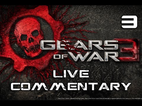 "Gears of War 3 Live Video Commentary - S5E3 ""Wet Dock"""