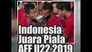 INDONESIA JUARA PIALA AFF U22 2019, BERKAT GOL SANI & OSVALDO