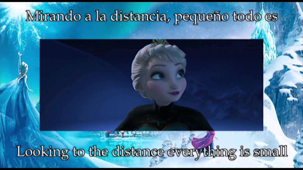 Small Frozen Coloring Pages : Disney s frozen let it go latin american spanish s t youtube