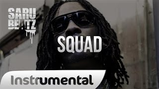 "Banging Trap Beat New School Rap Hip Hop Instrumental "" Squad "" - SaruBeatz ᴴᴰ"