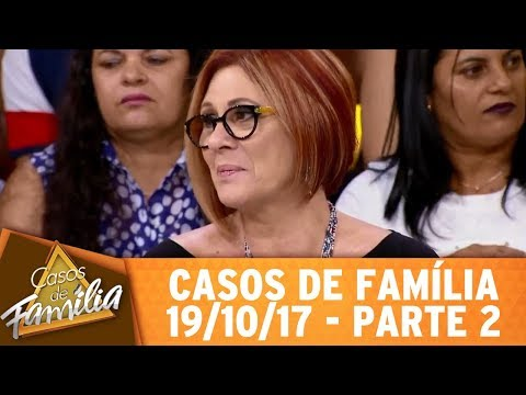 Eu Conheci Você Baladeiro? Então... Casou, Parou! - Parte 2   Casos De Família (19/10/17)