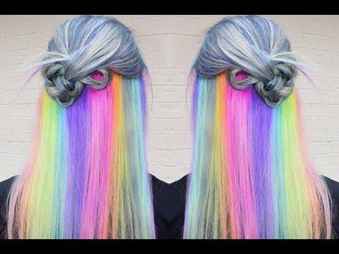 Slideshow Underlayer Hair Color Ideas Youtube