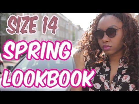 Mini Lookbook size 14  The curvy woman Size 14